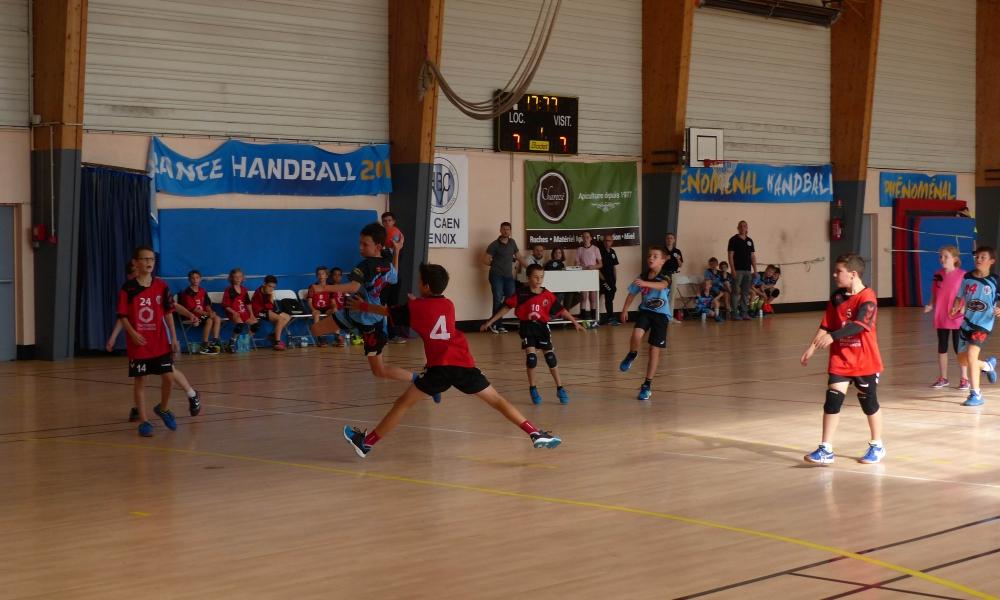 HBCV/Caen hb -11ans