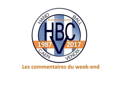 Résultats et commentaires du week-end du 29 et 30 avril 2017